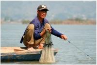 Laos les pecheurs du Mekong_1