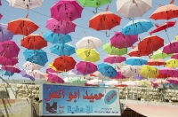 JORDANIE - Aqaba et ses parapluies_1