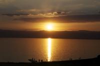 JORDANIE - Coucher de Soleil sur la Mer Morte_1
