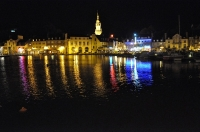 phot o de nuit Binic gde marée_1
